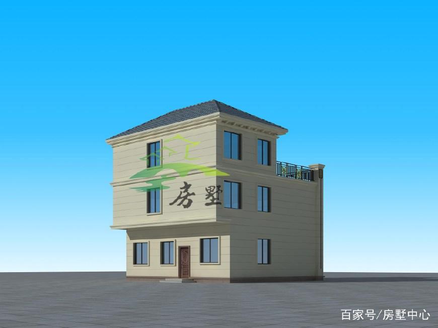 简欧三层别墅设计,金窝银窝不如自己的小窝,这就是人生至乐!