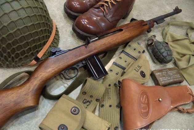 M1卡宾枪,美军装备二线部队的武器,也曾大量援助过中国