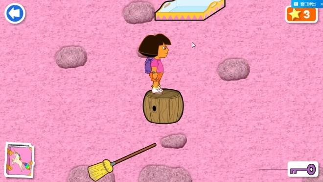 「小灿灿」爱探险的朵拉魔法城堡探险第三天游戏