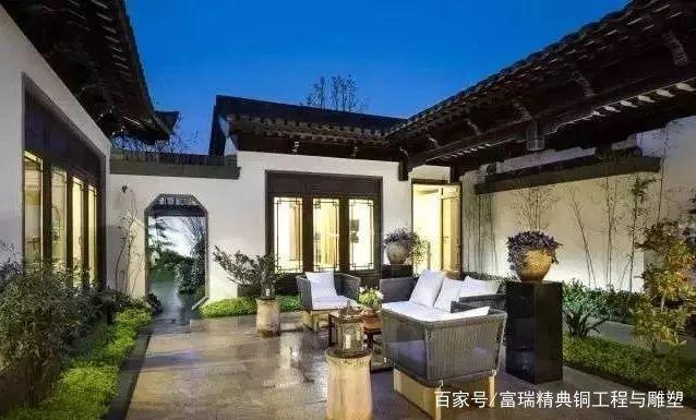 铜门,别墅门,双开门,庭院门,中式门,复古门