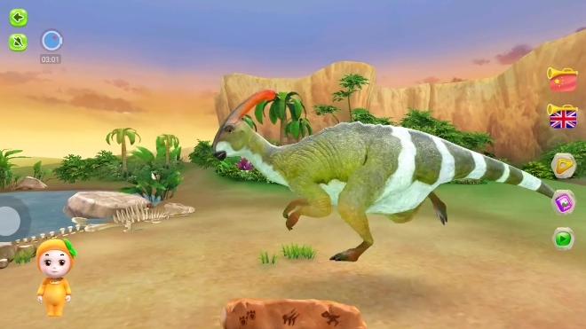 3d动物恐龙版03期:抬头仰望霸王龙游戏