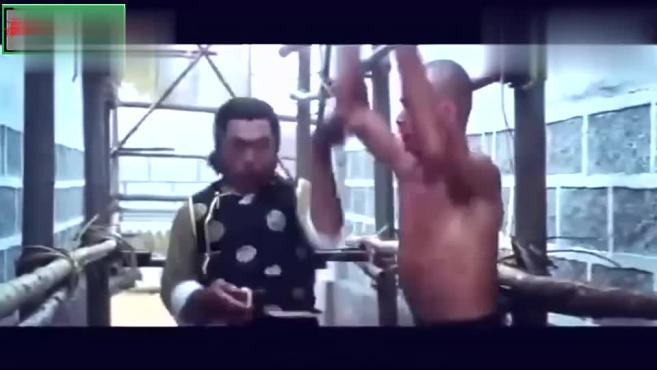 少林经典功夫片少林搭棚大师~