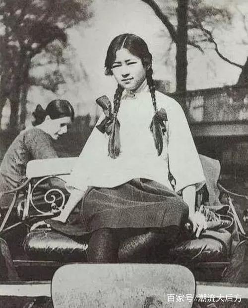 16岁的林微因到底有多美?令徐志摩不能自拔,图二让人图片
