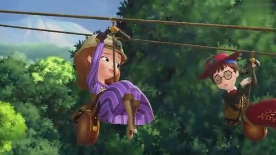 小公主苏菲亚:冒险真是太好玩了,苏菲亚太喜欢了