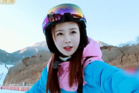 沈梦辰滑雪,杜海涛却吃教练的醋,满脸酸的样子像极了买超