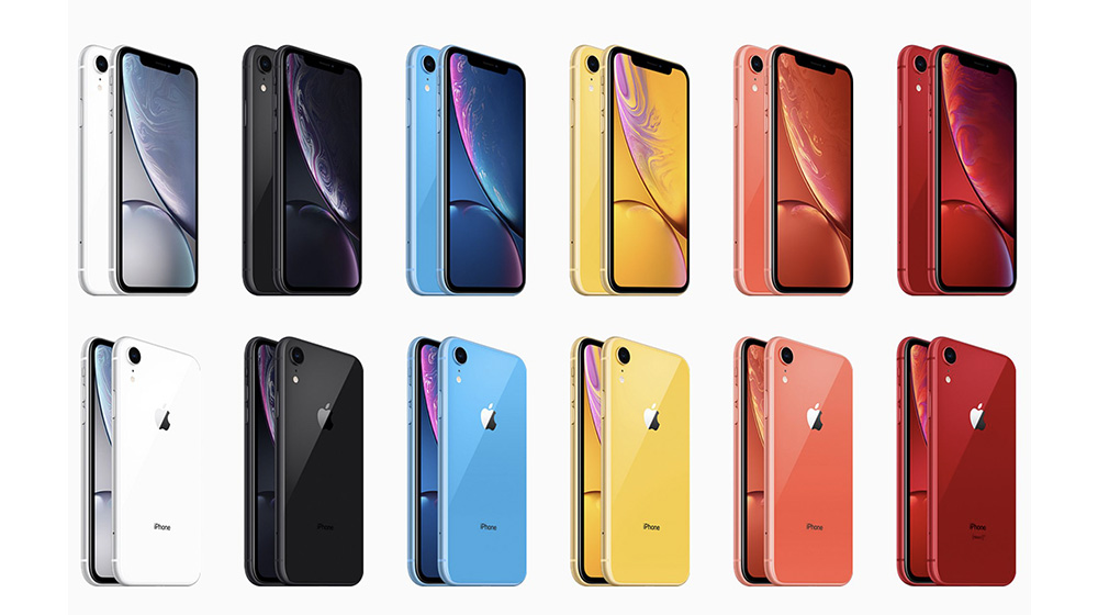 iPhone XR有六种颜色:黑色、白色、红色、黄色、蓝色、珊瑚色,每一种颜色都各有千秋,真的好难选择。 iPhone XR色彩绚丽,但是最耐看的还是黑色、白色两种经典配色,黄色、蓝色、红色、珊瑚色虽然好看,然是很容易看腻,但用久了颜色会变得很陈旧。而在黑白两色中,小编更推荐白色,iPhone XR屏幕黑边实在有点粗,如果购买黑色版本的话,黑边会和边框在视觉上叠加起来,显得黑边更粗,简直不忍直视,如果是白色的话,起来会舒服许多。 当然,以上只是小编的个人看法,大家可以根据自己的喜好挑选颜色,毕竟手机是自