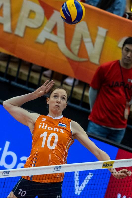 在杰米·莫里森的带领下,荷兰女排闯进了决赛,可最终还是负于塞尔维亚