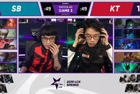 SB击败KT稳居LCK赛区第二,KT菜的令粉丝心疼,Smeb下滑太厉害!