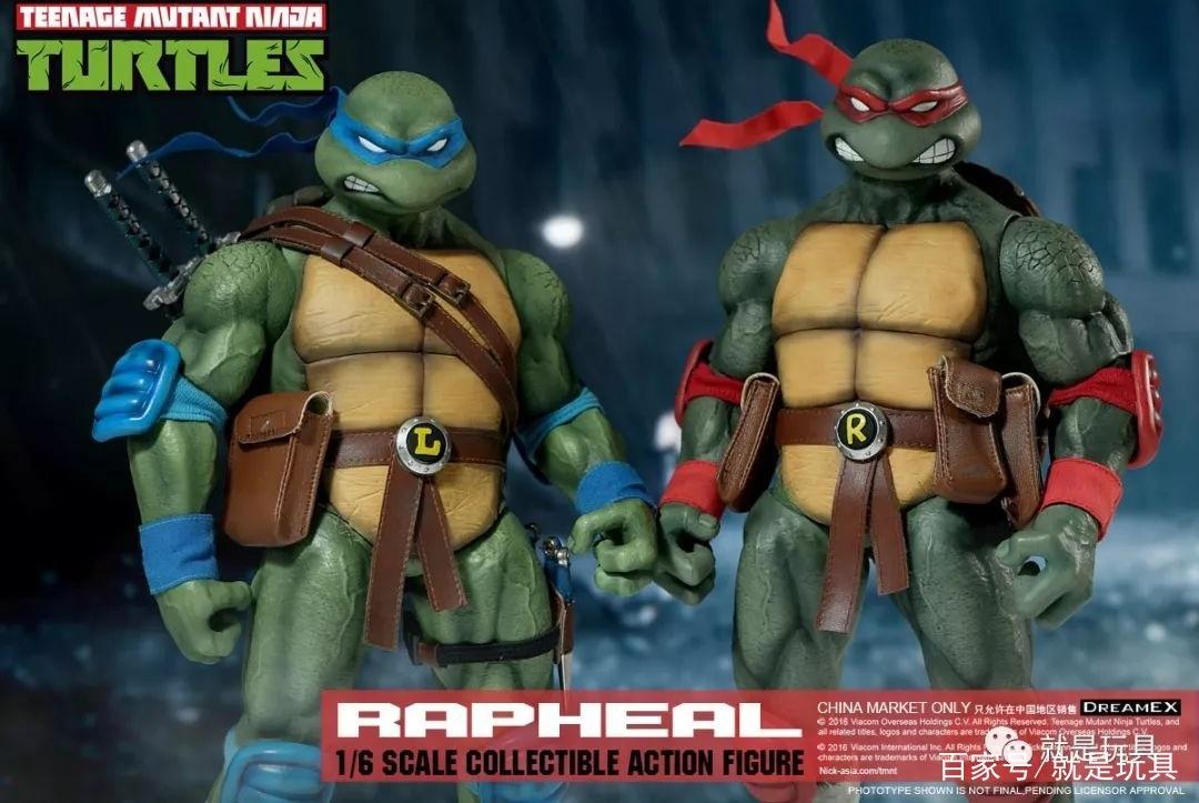 DreamEX12寸忍者神龟再版了,还能给爱普莉尔打电话?