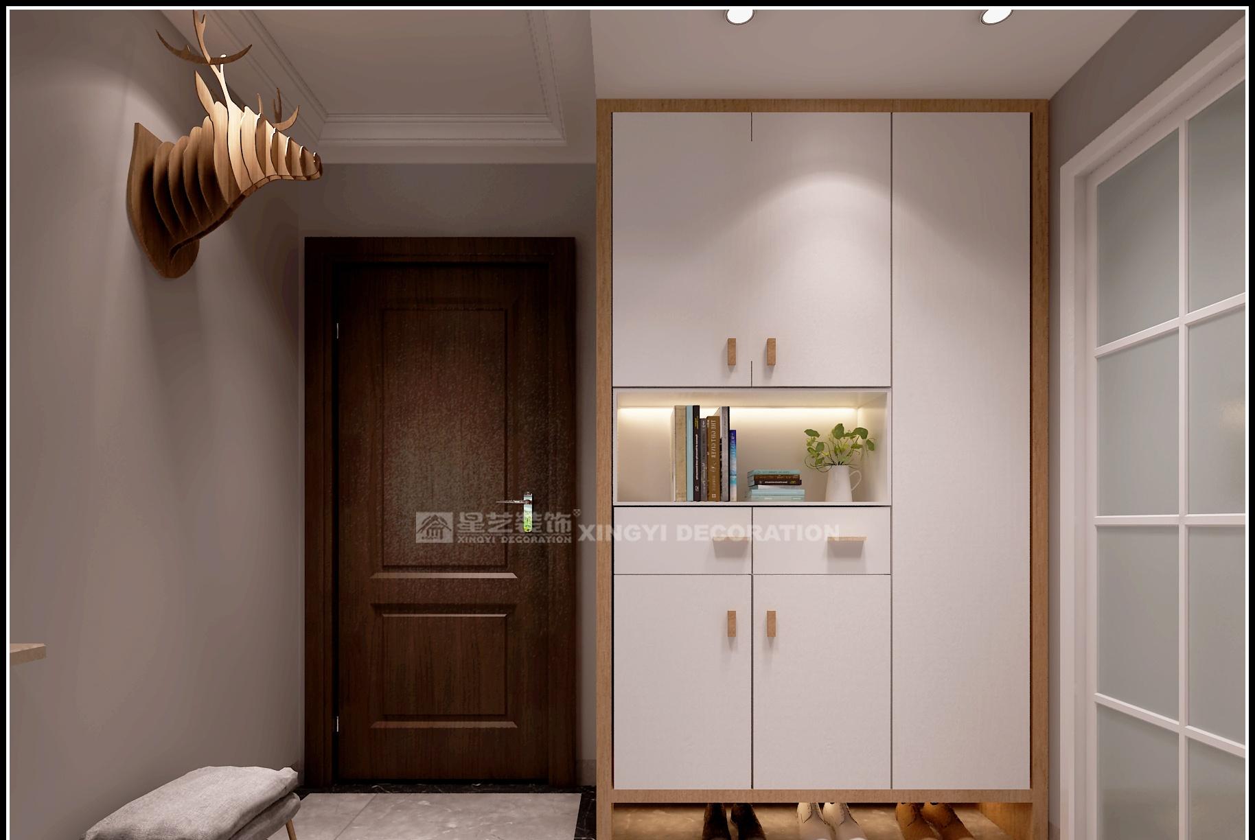 玄关设计只有鞋柜是不够的,还要有它才算完美!