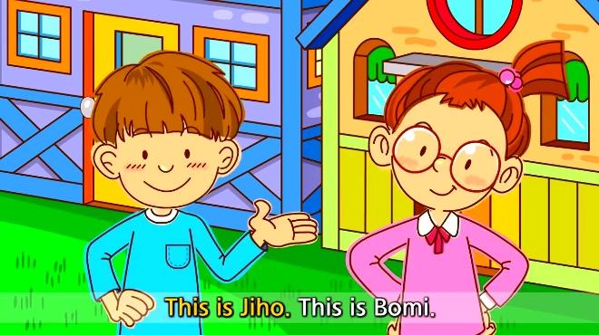 看动画学唱英文儿歌—早上好图片