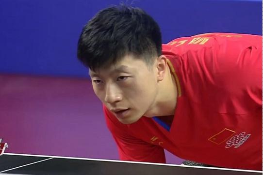 国乒2大主力上演巅峰对决,马龙强势回归连胜3局进入决赛