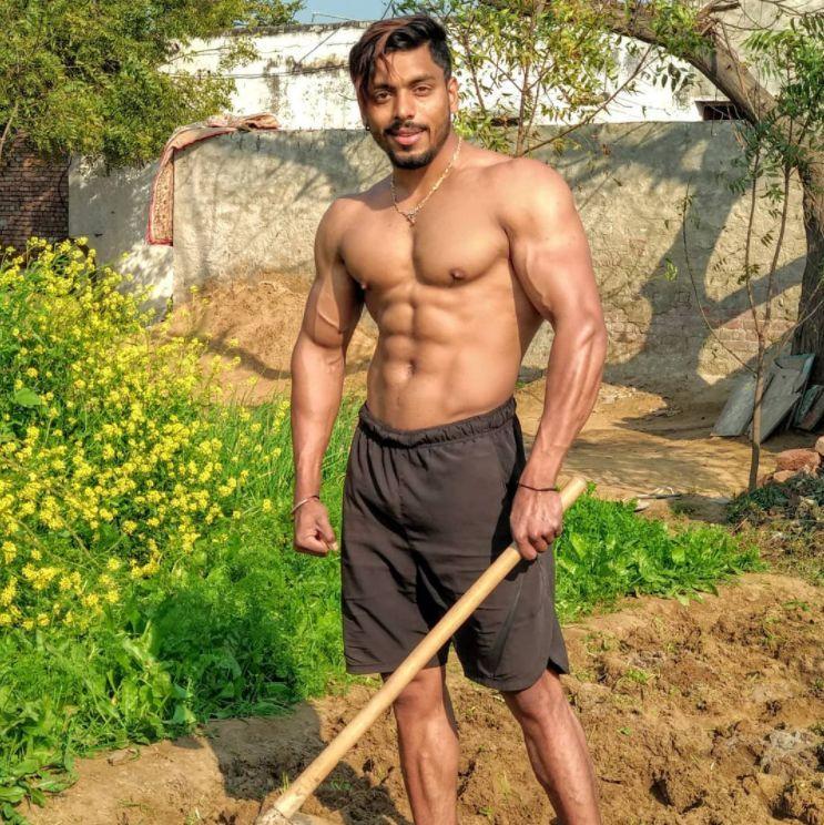 印度男模大根_农村小伙每天\