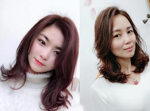 """2019流行齐肩""""烫发""""!奔五的女人,这3款发型,显脸小又图片"""