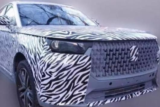一汽再发力,全新中型SUV曝光,比T77霸气,内饰科技感极强
