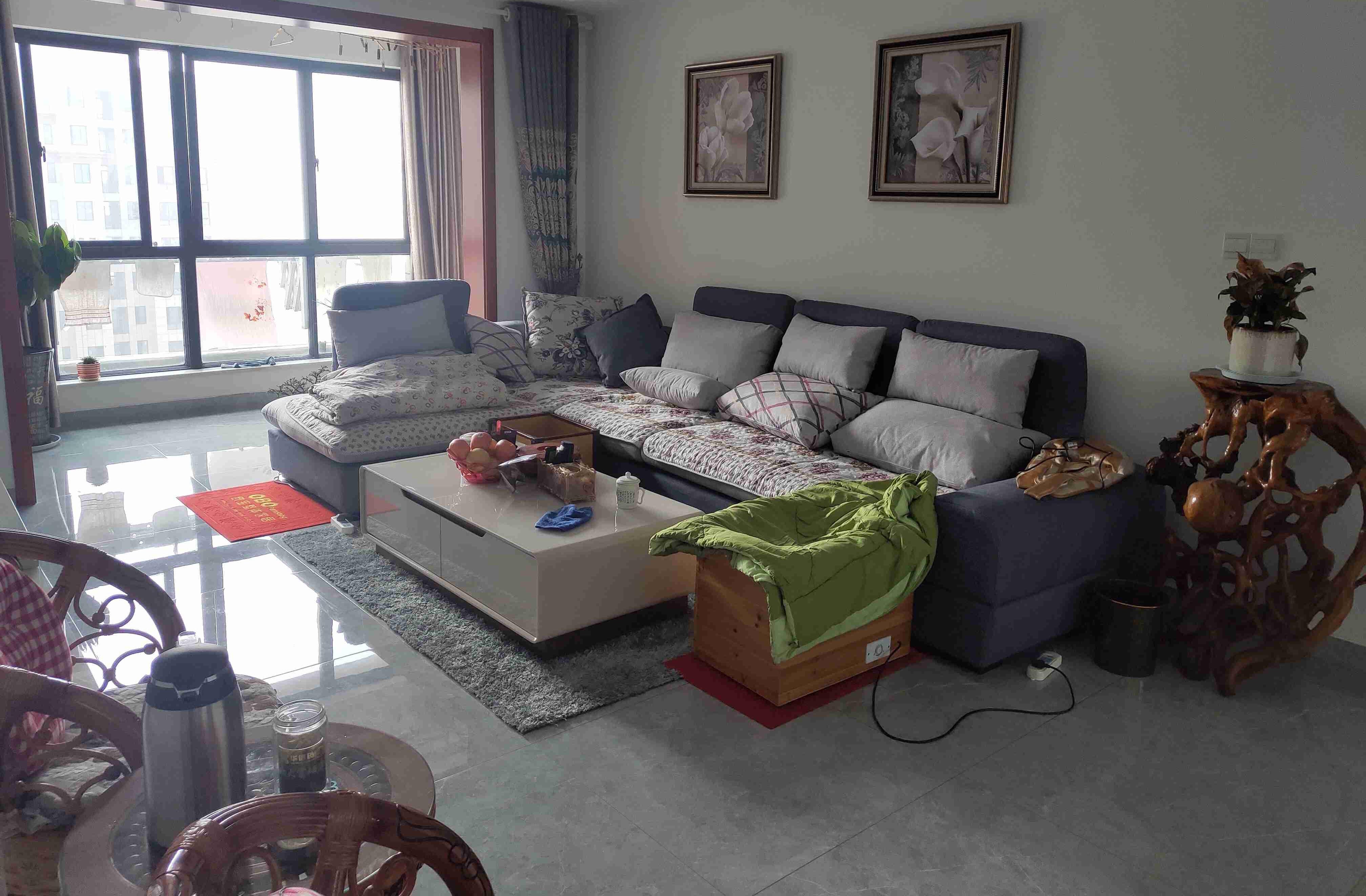 终于搬新家入住,忍不住晒晒,两房装修花了16W,家人都说不亏