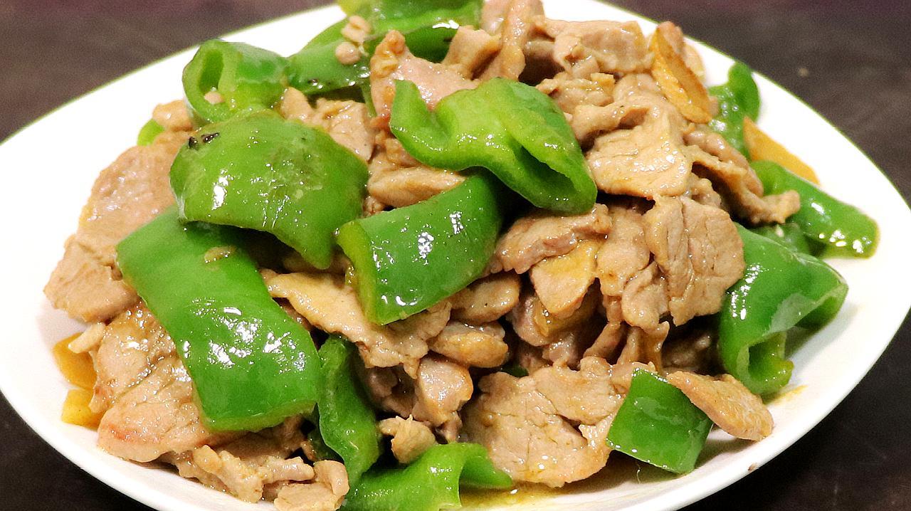 青椒炒肉片是先炒肉片还是青椒,很多人都没做对,难怪说不好吃