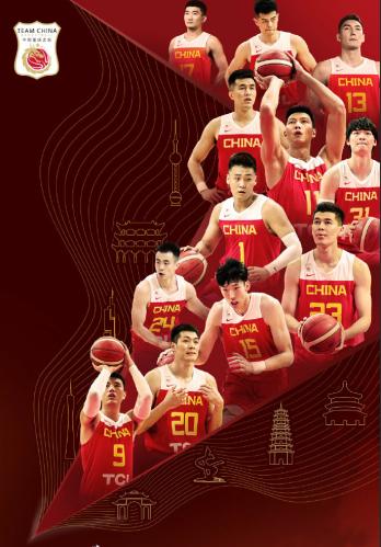 中国男篮世界杯12人出战名单:球员各有特点,他们都是谁?