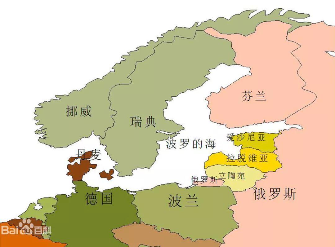 琥珀蜜蜡波罗的海沿岸国家分布