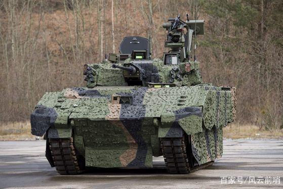 """英军测试""""阿贾克斯""""装甲侦察车,英国大力发展装甲战斗部队"""