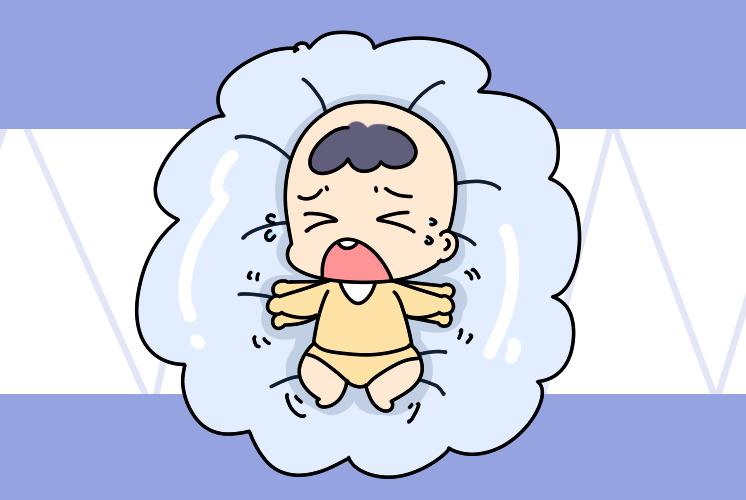 """宝宝睡觉有这两种奇怪行为,说明不舒服了,父母要""""对症下药"""""""