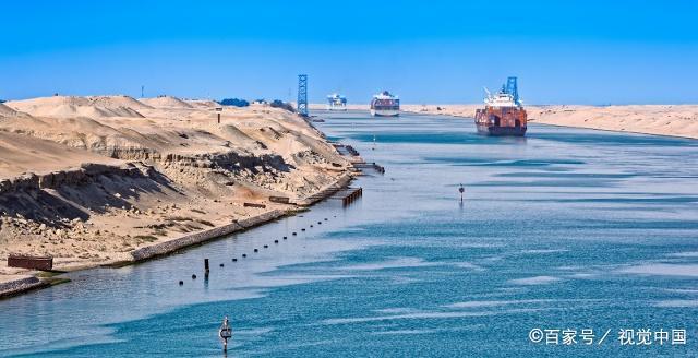 亚洲美囌͜_地球的美之苏伊士运河,它是亚洲与非洲间的分界!