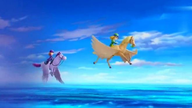 小公主苏菲亚:安柏和苏菲亚冒着冒雨骑着飞马,能否找回妈妈