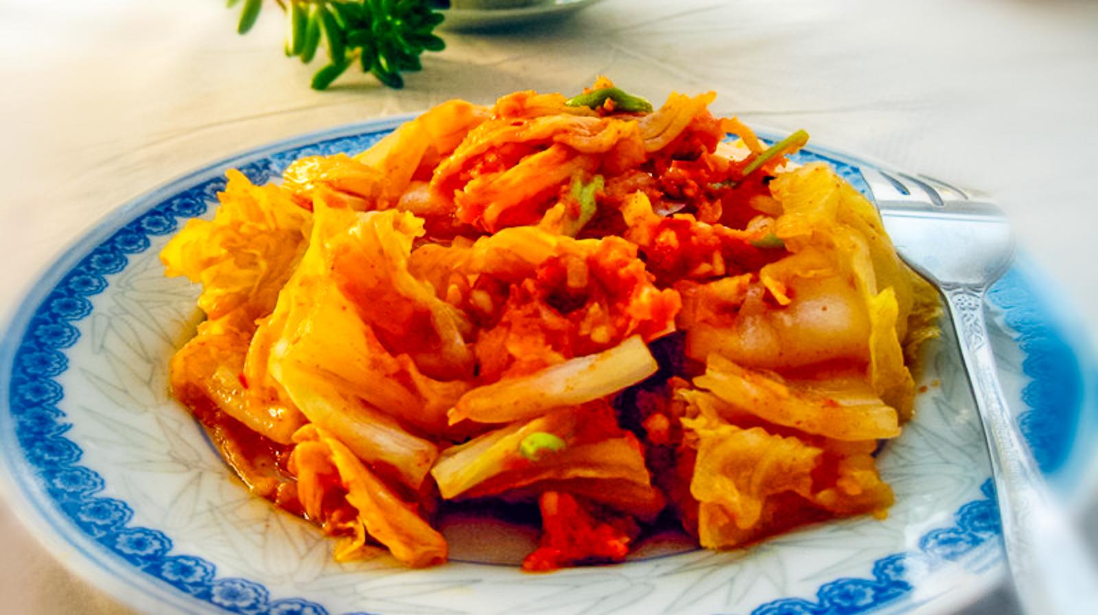 简易版的辣白菜,加一点它,比用鱼露还好吃,酸辣开胃超下饭