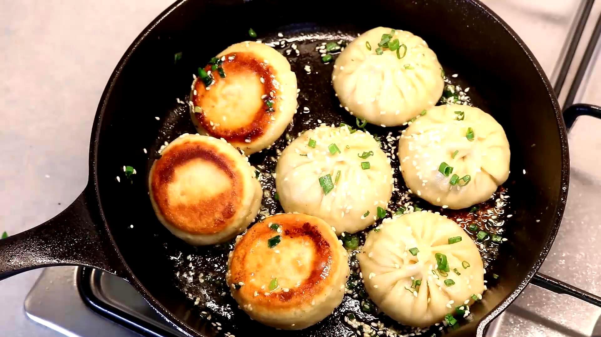 老上海生煎包,自己在家就能做出的美味