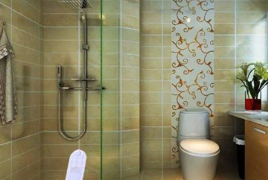 小户型卫生间别装马桶了,试试这种设计,省地方又实用