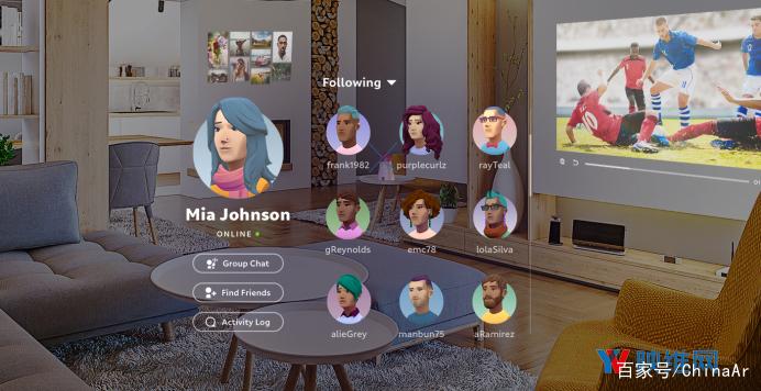 Magic Leap新体系更新为Avatar Chat供应三装备支撑