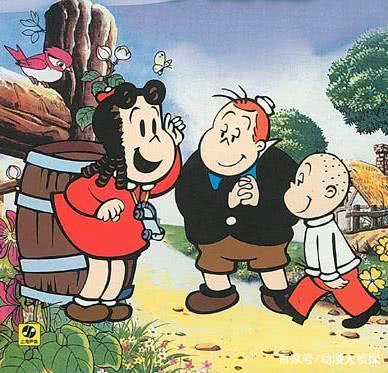 小露露.这部作品的连环漫画被认为是最好的一部儿童连环漫画.