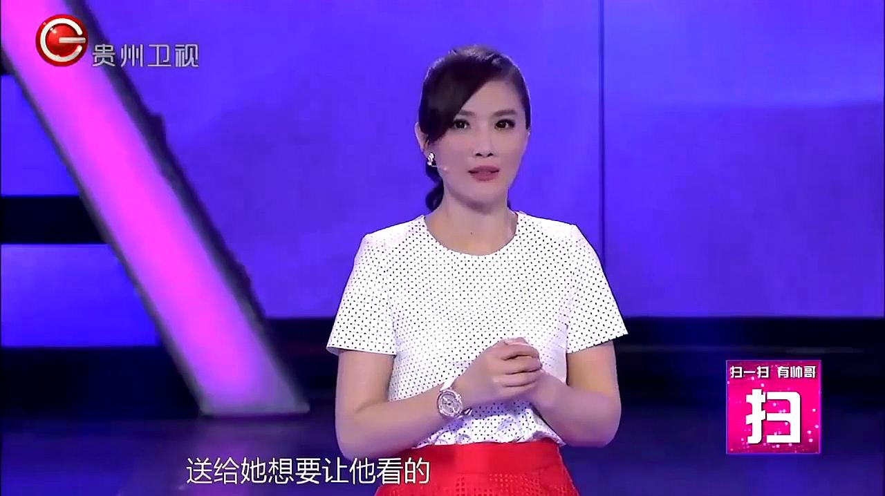 美女上台前,只给陈信维看了一个短片,看完后他竟流泪了!