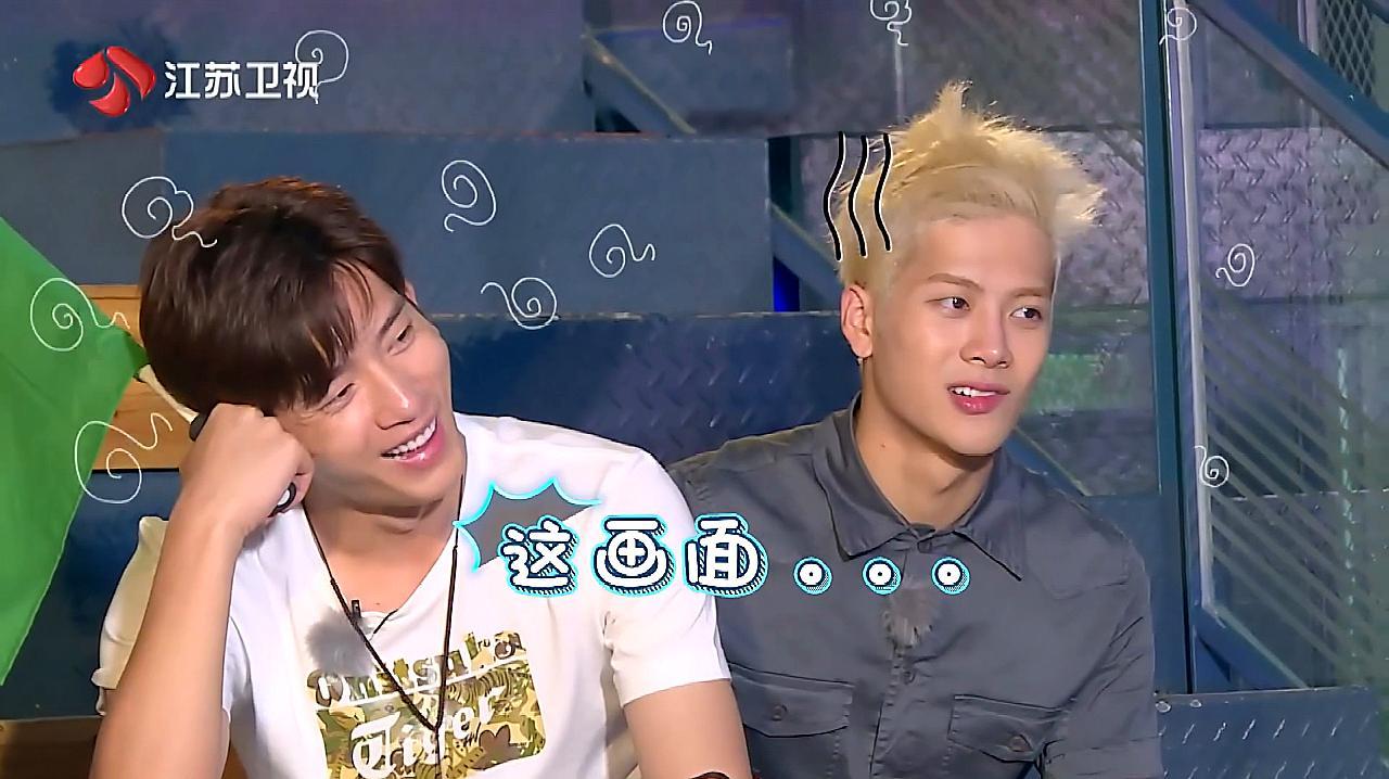 杨烁带假发,王凯说戴出了乔峰的感觉