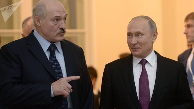 """白俄罗斯总统:与普京永远""""相看两不厌"""""""