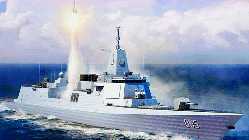 055被西方选为5大最致命战舰,张召忠:百年来首次登顶亚洲第一