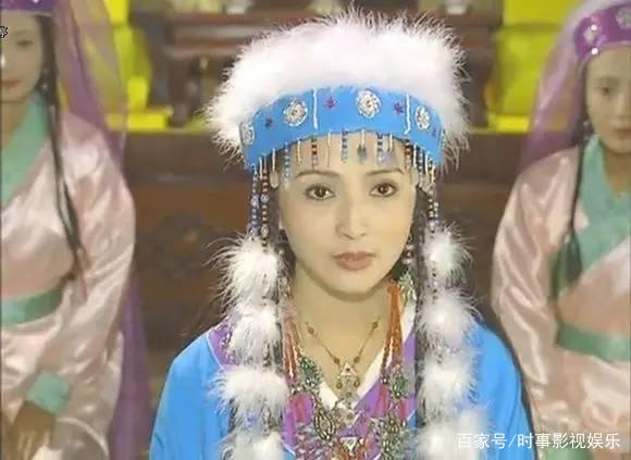 7位蓝衣古装美人:图3美如童话中的飞仙,图7美如蝴蝶