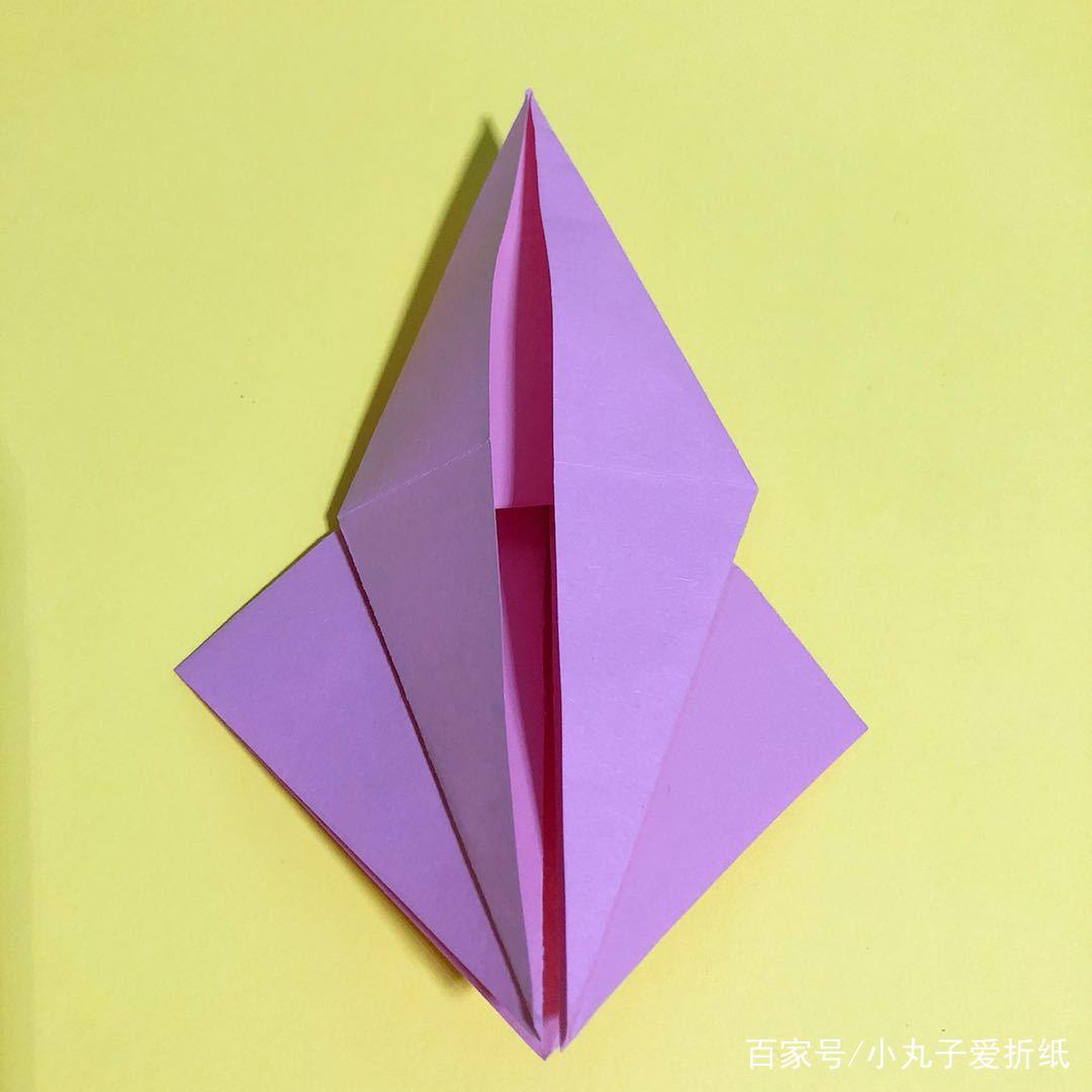 小丸子爱折纸:最简单的蜗牛折法,一看就会,不做手残党!