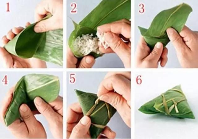 最近超流行的粽子包法,简单好看,一分钟就能学会