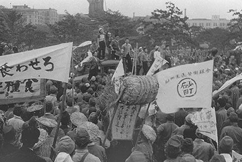 日本投降以后,最后一位犯不敬罪的人,感讽刺天皇