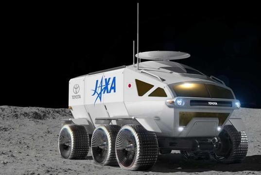 """丰田真是不得了,开发一款""""月球巡洋舰"""",野心膨胀到外太空了?"""