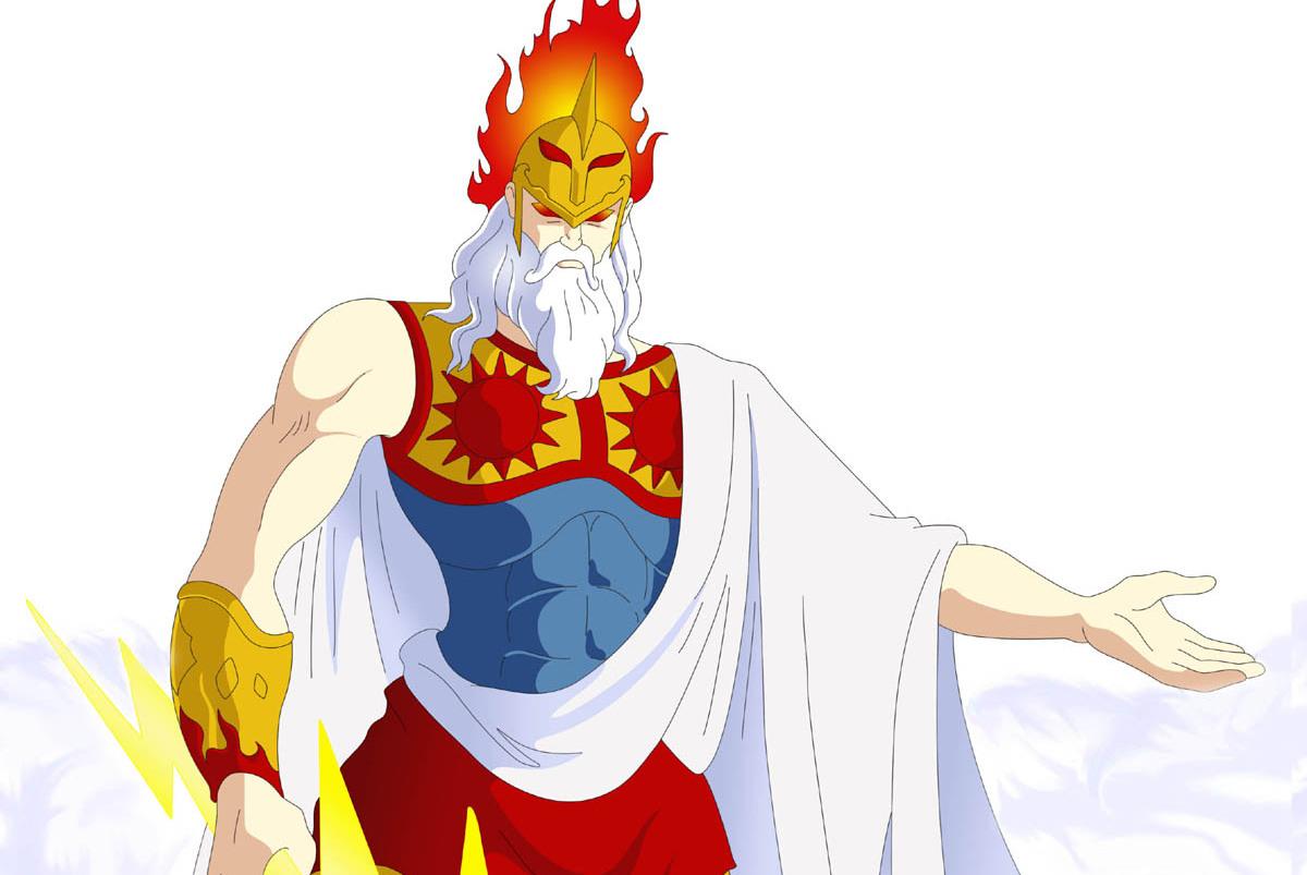 圣斗士星矢天界篇夭折,但不妨碍粉丝们设想宙斯的神圣衣