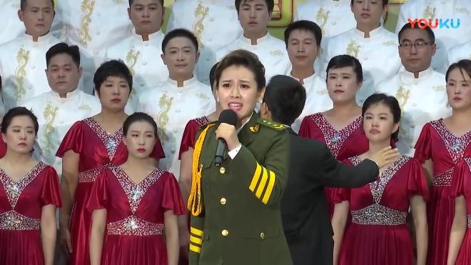 傅庄街道机关大合唱《当那一天来临》《天下乡亲》指挥李岩 领唱秦然 编舞刘建萍