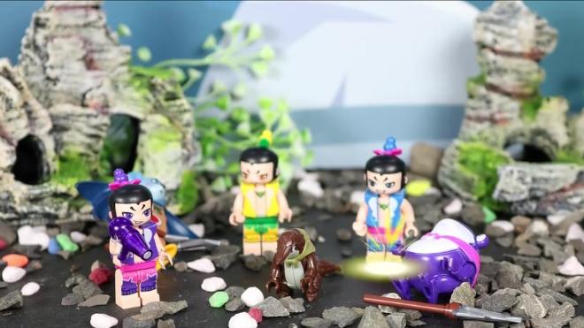 葫芦娃儿歌 第25集 葫芦娃的朋友穿山甲是个小勇士