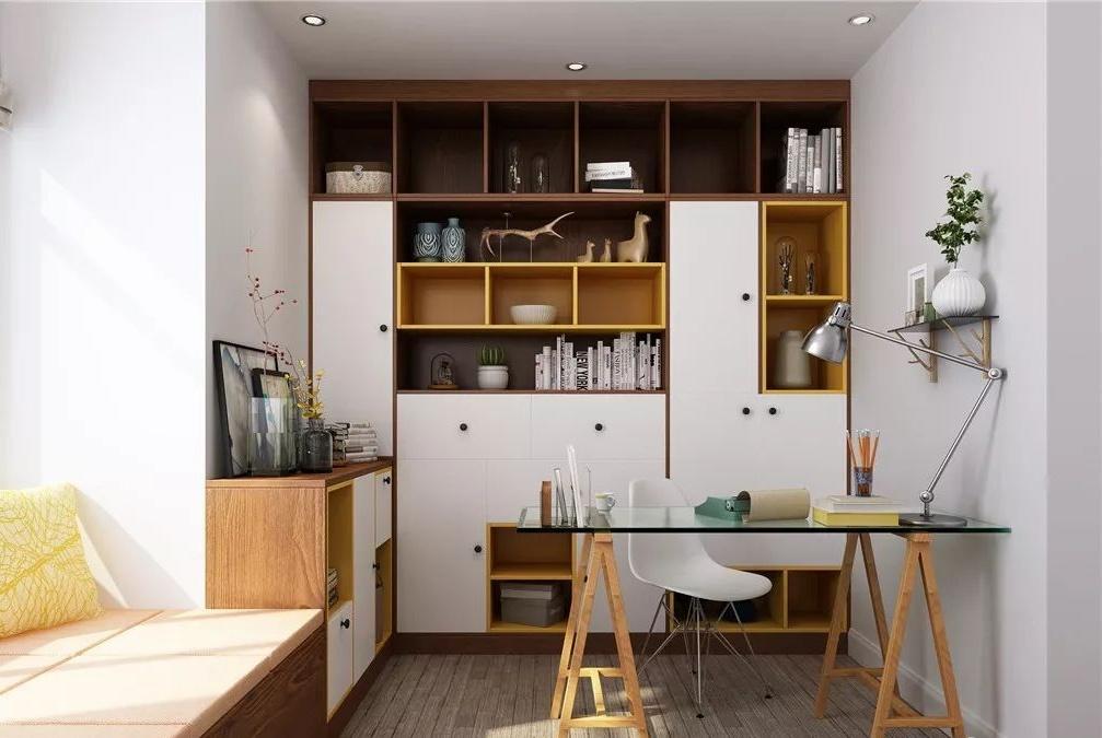 装修书房的5点心得,再小的户型也能设计一个独立书房