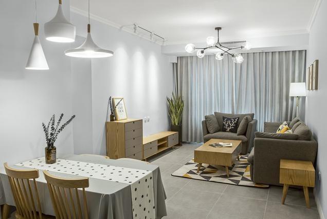 85平3室2厅北欧风装修,全家人喜欢的不得了!比别墅还漂亮
