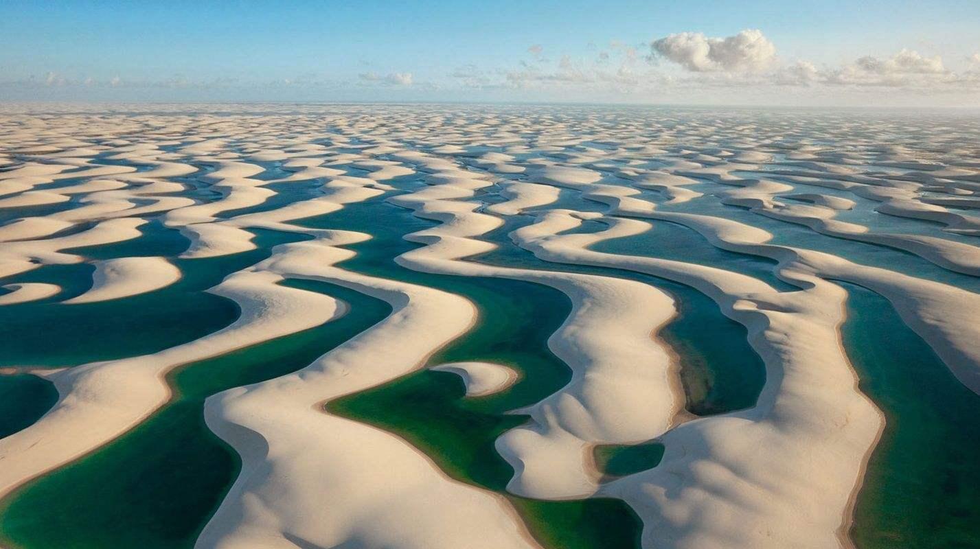 """全球最""""水润""""的沙漠:没有黄沙漫天,却有鱼虾不计其数"""