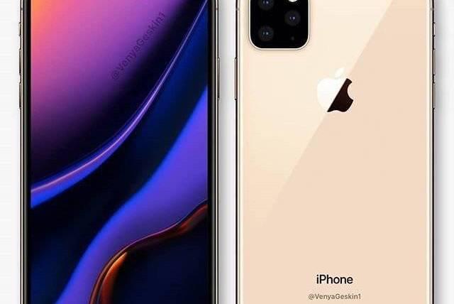 苹果iPhone11内部设计图曝光:后置四摄真要致敬华为的浴霸造型?