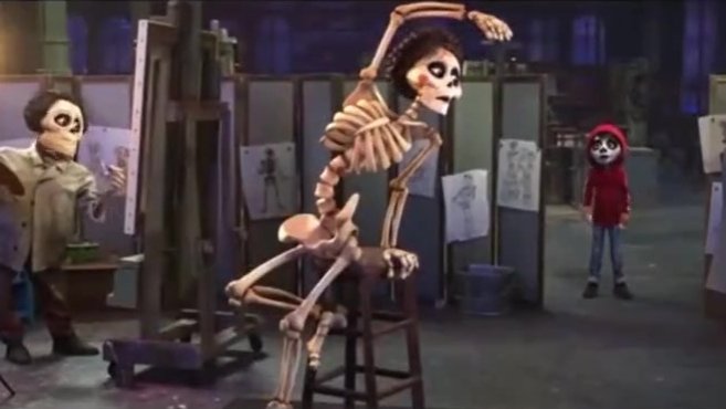 《寻梦环游记》是一部没有一丝铜臭味的好莱坞顶尖动画片