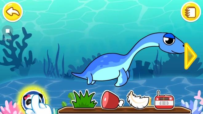 宝宝巴士 恐龙乐园之游泳健将蛇颈龙 手游图片
